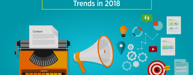 Top Content Marketing Trends 2018
